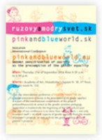International Conference pinkandblueworld.eu